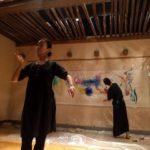 painting kikasia@シルクロード舞踏館